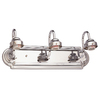 Portfolio 3-Light Vanity Chrome Bathroom Vanity Light