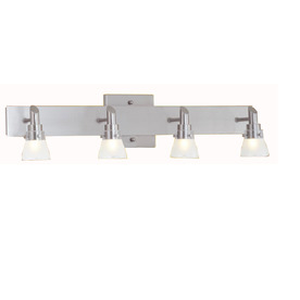 Bathroom Light Fixtures In Brushed Nickel shop vanity lights at lowes