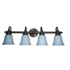 Portfolio 4-Light Oil-Rubbed Bronze Bathroom Vanity Light