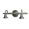 Portfolio 2-Light Vanity Antique Nickel Bathroom Vanity Light