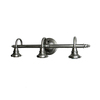 Portfolio 3-Light Vanity Antique Nickel Bathroom Vanity Light