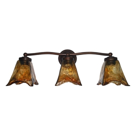 Shop Portfolio 3-Light Oil Rubbed Bronze Bathroom Vanity Light at