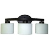 allen + roth 3-Light Merington Bathroom Vanity Light