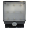 Portfolio Black Solar-Powered LED Deck Light