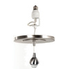 Portfolio Nickel Recessed Can to Mini Pendant Light Conversion Kit
