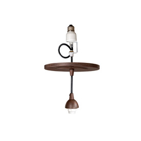 Portfolio Bronze Recessed Can to Mini Pendant Light Conversion Kit