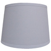 allen + roth 9-in x 13-in White Fabric Drum Lamp Shade