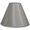 allen + roth 12.5-in x 17-in Silken Toast Fabric Cone Lamp Shade