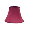 allen + roth 11-in x 15-in Red Fabric Bell Lamp Shade