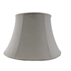 allen + roth 11-in x 16-in Cream Fabric Bell Lamp Shade
