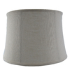 allen + roth 10-in x 15-in Cream Fabric Drum Lamp Shade