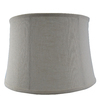 allen + roth 9.75-in x 14-in Cream Fabric Drum Lamp Shade