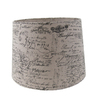 allen + roth 11-in x 13-in Tan Fabric Drum Lamp Shade