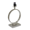 allen + roth 16-in 3-Way Switch Brushed Nickel Lamp Base