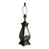 allen + roth 29-in 3-Way Specialty Silver Lamp Base