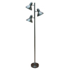 allen + roth Embleton 68-in Brushed Nickel Indoor Floor Lamp with Metal Shade
