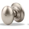 Yale Security YH Dartmouth Satin Nickel Egg Push Button-Lock Privacy Door Knob