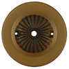 Portfolio Aged Brass Metal Ceiling Fan Yoke Cover