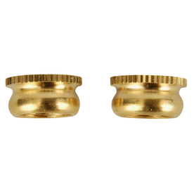Portfolio 2-Pack Polished Brass Lamp