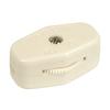 Portfolio White In-Line Cord Light Switch