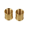 Portfolio 1/8&#034; Coupling - Antique Brass