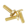 Portfolio 3-Pack 1/2-in Brass Plated 8/32 Screws
