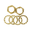 Portfolio 6 Assorted Nut Washers 1/8ip