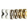 Portfolio 6 Chain Connectors Polished Brass