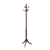 Powell Heirloom Cherry 4-Hook Coat Stand