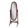 Powell 59.25-in x 22.5-in Oval Floor Standing Mirror