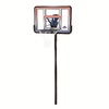 LIFETIME PRODUCTS Outdoor In-Ground 44-in Backboard Basketball System