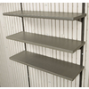 LIFETIME PRODUCTS Brown Resin Storage Shed Shelf