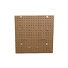 LIFETIME PRODUCTS Brown Resin Storage Building Peg Board