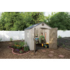 LIFETIME PRODUCTS Gable Storage Shed (Common: 8-ft x 7-ft; Actual Interior Dimensions: 7.5-ft x 7-ft)
