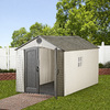 LIFETIME PRODUCTS Gable Storage Shed (Common: 8-ft x 12.5-ft; Actual Interior Dimensions: 7.5-ft x 12-ft)