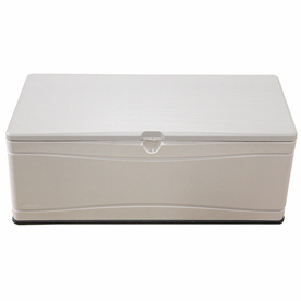 LIFETIME PRODUCTS 60-in L x 24-in W 130-Gallon Tan HDPE Deck Box