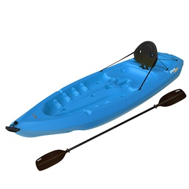 LIFETIME PRODUCTS Lotus 8-ft x 30-in Blue 1-Person Plastic Recreational Kayak