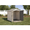 LIFETIME PRODUCTS Gable Storage Shed (Common: 7-ft x 7-ft; Actual Interior Dimensions: 6.52-ft x 6.52-ft)