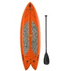 LIFETIME PRODUCTS Freestyle 9-ft 8-in x 35.5-in Orange 1-Person Plastic Recreational Kayak