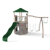 LIFETIME PRODUCTS Lifetime Adventure Tower Metal Playset with Swings