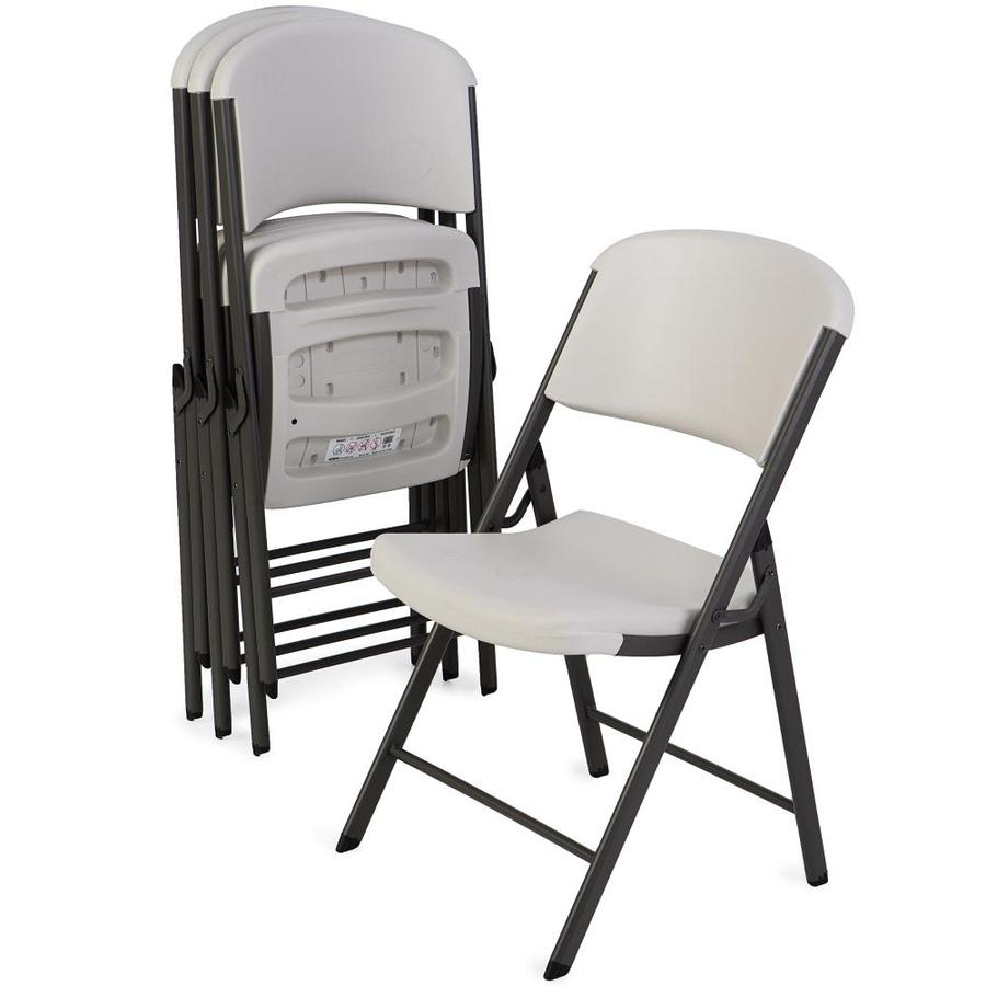 Shop Lifetime Products 4 Steel Folding Chairs At