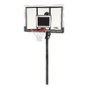 LIFETIME PRODUCTS Outdoor In-Ground 54-in Backboard Basketball System
