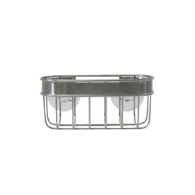 interDesign Metal Suction Sink Caddy