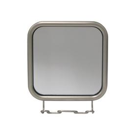 interDesign Satin Nickel Fog-Free Vanity Mirror