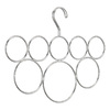 interDesign Chrome Classico 8-Loop Scarf Holder