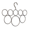 interDesign Bronze Classico 8-Loop Scarf Holder