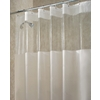 interDesign Hitchcock EVA/PEVA Clear Frost Solid Solid Shower Curtain