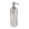 interDesign Clear Soap/Lotion Dispenser