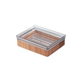 Shop interdesign formbu brown bamboo bathroom coordinate for Bathroom coordinate sets