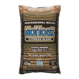NoFloat 2 cu ft Cypress Mulch